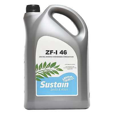Zinc Free ZF Hydraulic Oil ISO 46 Biodegradable 5 Litre 5L