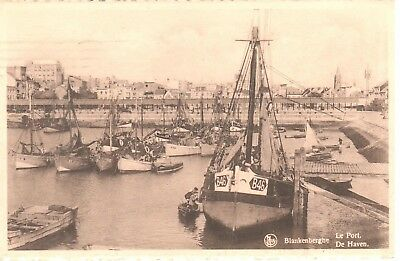 carte postale - Blankenberge  - Le port - De haven
