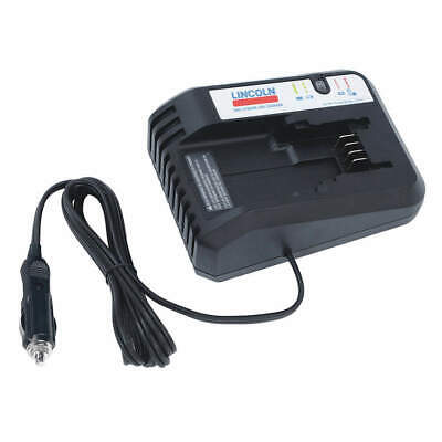 "LINCOLN ABS/Steel/Copper/Lithium Battery Charger,20V,6-19/64"",4-39/64"", 1875A"