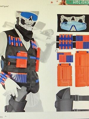 Tactical vest kit for nerve guns in strike series