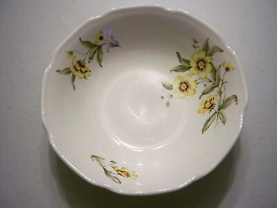 Vintage Bowl With Coreopsis Floral Pattern