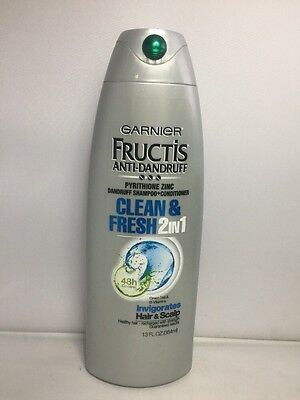 Garnier Fructis Anti Dandruff Clean & Fresh 2in1 Shampoo + Conditioner 13oz