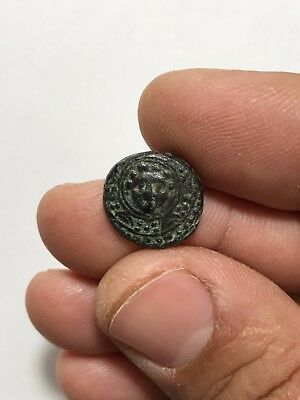 Ancient  Greek Ae Coin Antigonus 4.4 Gr 16 Mm