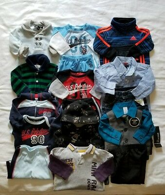 Baby Boys 0/3 3 months Fall Winter Clothing outfits clothes lot