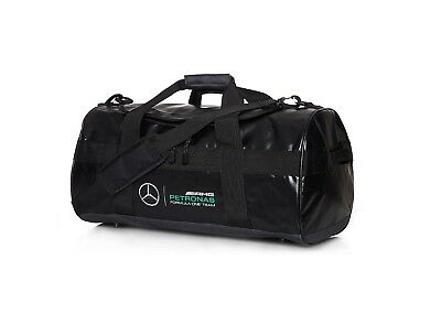 2017 OFFICIAL Mercedes AMG Petronas F1 Sports Holdall Bag BLACK - NEW