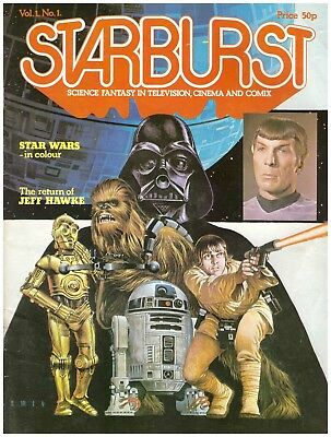 StarBurst Magazine., Vol-1 Number 1 STAR WARS in colour January 1978