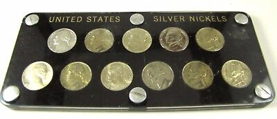 United States Silver War Nickels