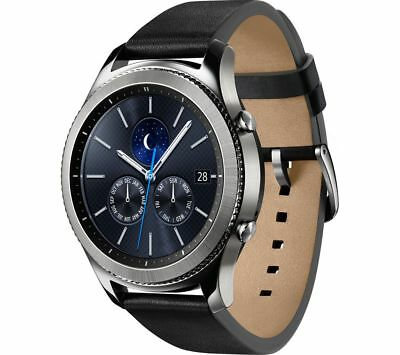 AUTHENTIC Samsung Galaxy Gear S3 Classic Watch ONLY SM-R770 Black Band OEM *READ