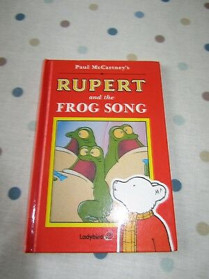 Rupert and the Frog Song and Rupert and the Magic Seeds Ladybird books