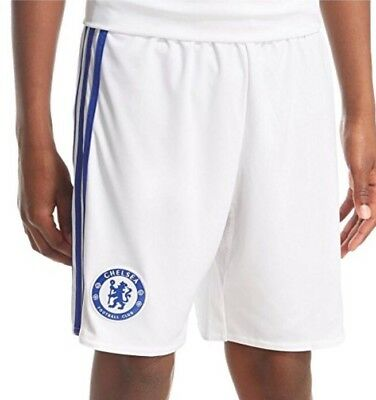 Adidas CFC 3 SHO 3rd Team 2016/17 Shorts White/Blue Adult Size M New Xmas Gift