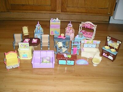 Fisher-Price LOT DOLLHOUSE FURNITURE  Loving Family LOT 3