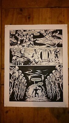 ORIGINAL ARTWORK  FOR DREDD MEG #51 Pg 36 TRUE LOVE PART 1 PAGE 6