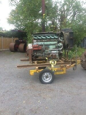 Tractor Puller Erf Foden Rolls Royce Eagle Fordson Tractor Pulling