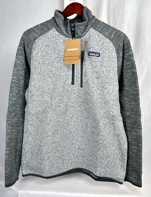 Patagonia BETTER SWEATER 1/4 Zip Fleece Jacket NKFG AUTHENTIC 25522 Mens New Tag