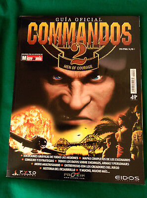Guia Oficial Comandos 2 - Men Of Courage - Micromania - 29,5 X 23 - 146 Paginas