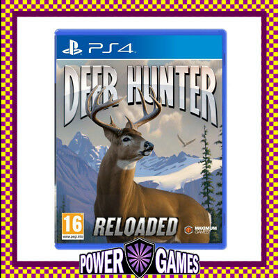 Deer Hunter Reloaded PS4 (Sony PlayStation 4) Brand New