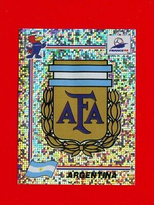 WC FRANCE '98 Panini 1998 - Figurina-Sticker n. 499 - ARGENTINA - BADGE -New