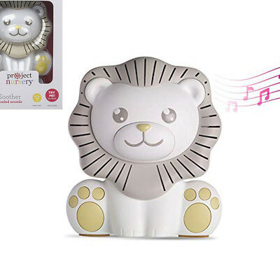 Project Nursery Sound Machine with Nightlight Lion