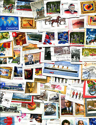 Luxury Canada Kiloware many high value and scarce stamps TWO SCANS LOT B