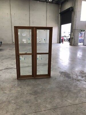 Timber Double hung window 1800mm x 1210mm (DOUBLE GLAZED)