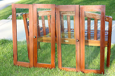 Antique Prairie Style - Mission Kitchen Cabinet Doors c. 1924