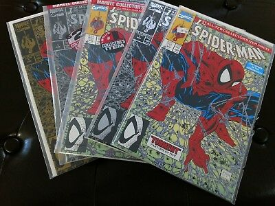 SPIDER-MAN (1990)Complete run 1-74 plus 117 other Spider-Man title issues all NM