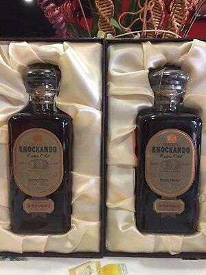 1+1 Whisky Knockando 21 Years  Extra Old Vintage 1980-2001 + Vintage 1981-2002