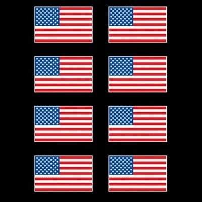 US Flag Screen Printed Heat Transfers for T Shirt Sweatshirt over 160 quantity