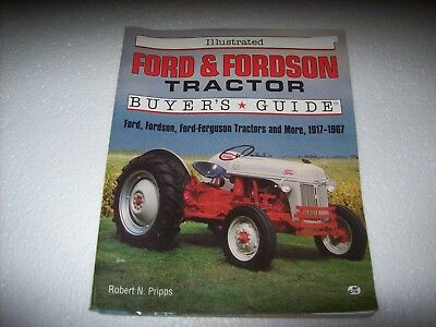 Book on Ford & Fordson Tractor Buyer's Guide - 1917-1967- Illustrated