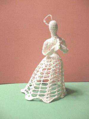 Crocheted Angel Tree Topper 7 Unique Vintage Christmas Ornament