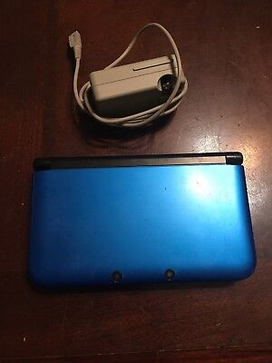 Nintendo 3DS XL (Latest Model) Blue/Black Handheld System with Pokémon moon
