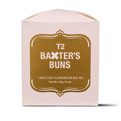 T2 Baxters Buns Limited Edition Tea 250g
