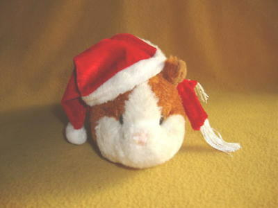 Shimmery Santa Hat with Scarf for Guinea Pig from Petrats