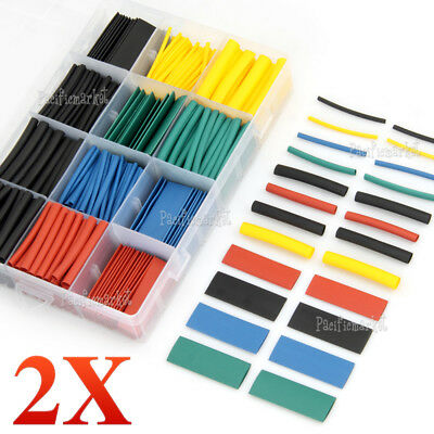 1060 pcs Heat Shrink Tubing Tube Assortment Wire Cable Insulation Sleeving Kit