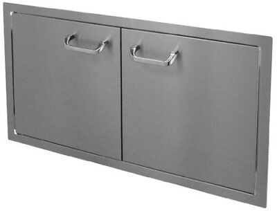 HBI 36DD-STD Hasty-Bake Stainless Steel Standard Double Access Doors, 36-Inch