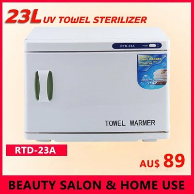 23L Towel Warmer UV Sterilizer Cabinet Heater Salon Disinfection Facial Beauty