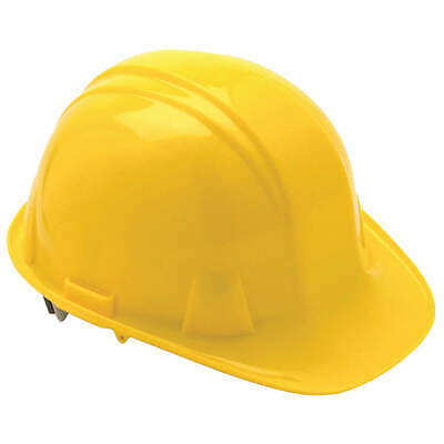 CONDOR Hard Hat,4 pt. Ratchet,Ylw, 52LC96, Yellow