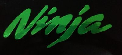 Kawasaki Ninja Decals Stickers Graphics zx6 zx10 250 300 00 02 03 04 05 06 08 09