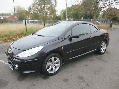 Peugeot 307 Cc Salvage/damaged