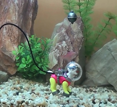Action Air DIVING SEA DOG ORN Aquarium Ornament Fish Tank Decoration best Gift