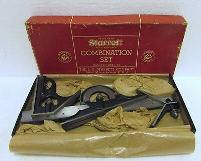 Nos Starrett 434 Combination Set 12""
