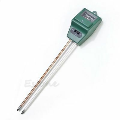 3 in 1 PH Soil Tester Water Moisture Test Light Meter for Garden Plant Flower