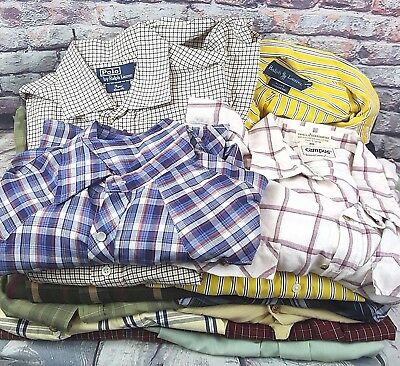 Mens Shirts: Long Sleeve Polo Ralph Lauren And More Wholesale Lot Designer