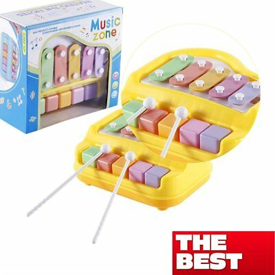 Musical Toy Educational Piano Music Toy with Two Piano Sticks for Baby Kids BeC#