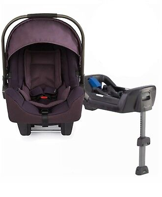 2015 Stokke Nuna Pipa Infant Car Seat Carseat - Blackberry And Base