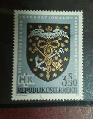 stamp - austria - sg#1608 - international chamber of commerce - mnh Lot 771
