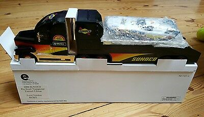 Sunoco 2000 GOLD Pro Stock Transporter w/Stock Car Limited Edition #01312