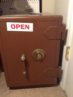 Vintage Herring Hall Marvin Co. Safe