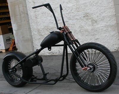 2017 Custom Built Motorcycles Bobber  MMW COPPER HEAD OLD SCHOOL OG 200 BOBBER  RIGID 23 FRONT   ROLLING CHASSIS
