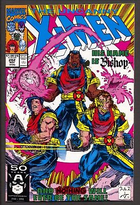 Uncanny X-Men #282 (1991)~1st & 2nd Print~1st Bishop appearance~NM+